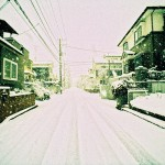 雪景色(横浜市旭区)