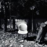 公園と椅子