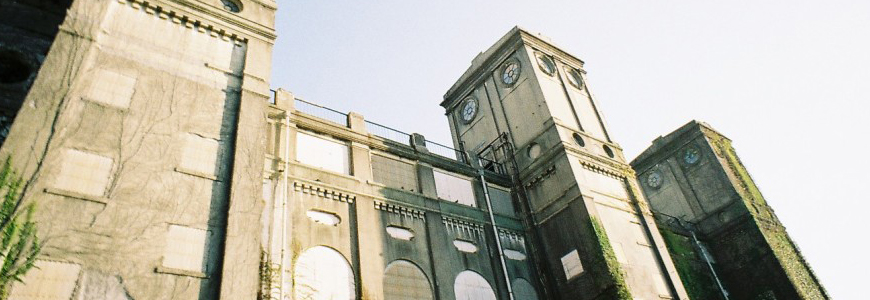 根岸の競馬場跡(横浜市中区)