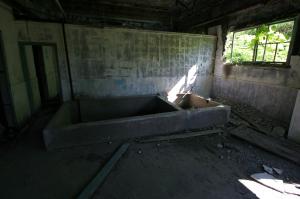 松尾鉱山・共同浴場