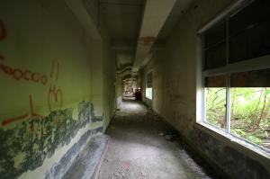 生活学園・廊下