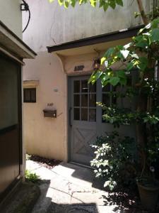 古本市の日に見かけたアパート