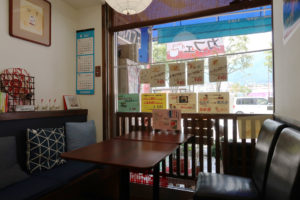 飯田駅前の喫茶店