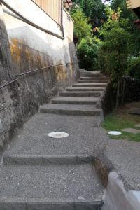 平岡の坂道