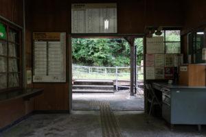 小和田駅・改札